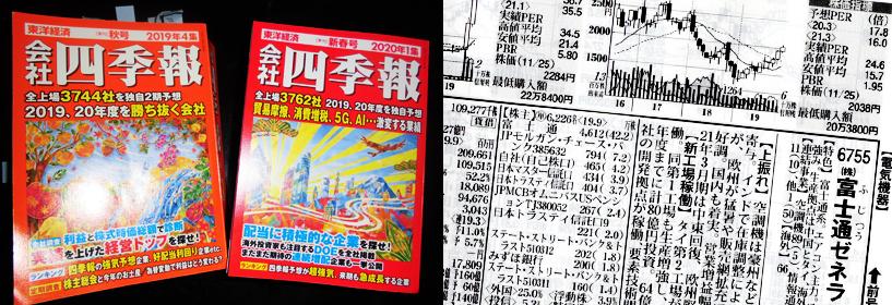 東洋経済新報社「会社四季報」